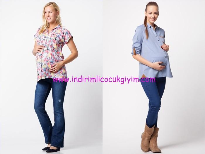 DeFacto 2015 hamile gömlek modelleri
