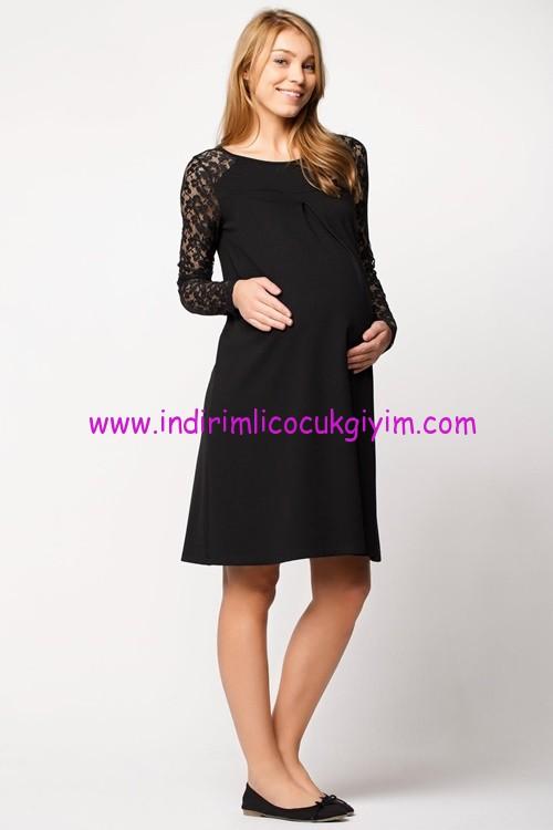 DeFacto siyah hamile elbise-40 TL