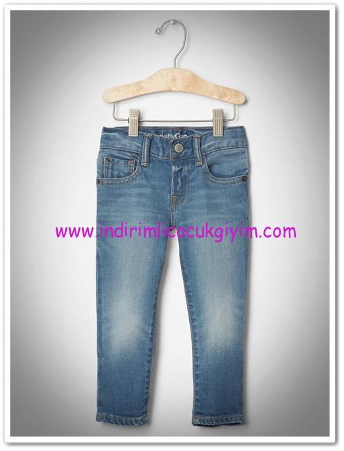 Gap 1-5 yaş kız çocuk kot skinny pantolon-100 TL