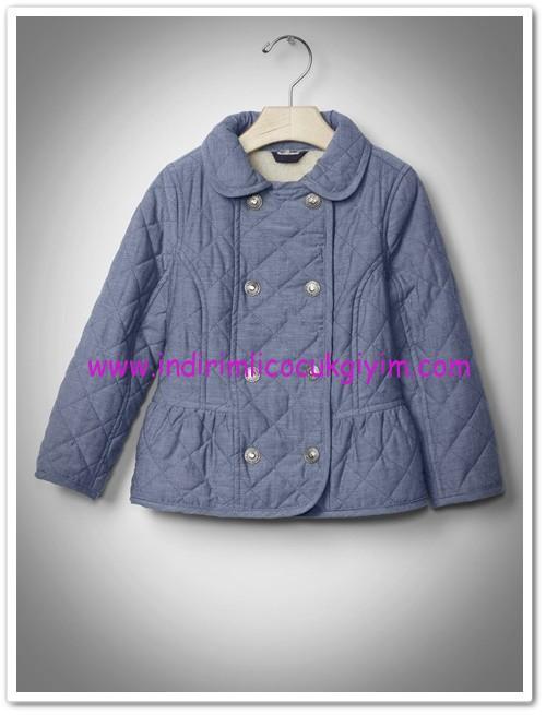 Gap kız çocuk kapitone ceket-160 TL