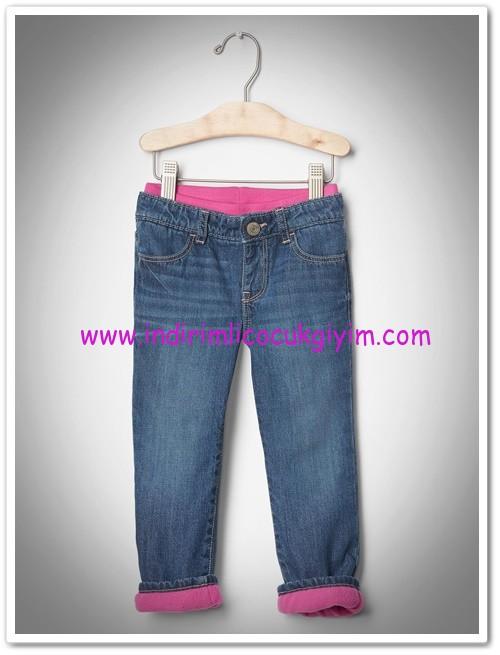 Gap polar astarlı kız çocuk kot pantolon-120 TL