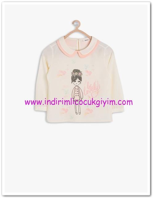 Koton kız çocuk bebe yaka bluz-20 TL