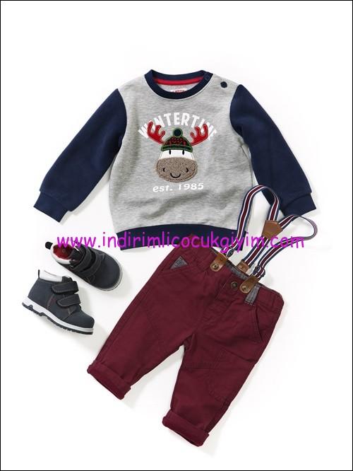 LCW erkek bebek sweatshirt-pantolon