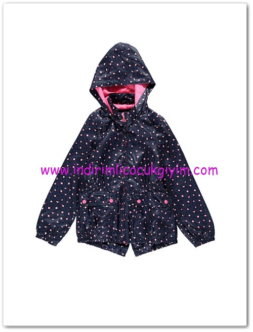 LCW genç kız lacivert yağmurluk-40 TL
