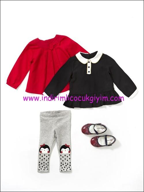 LCW kız bebek bluz modelleri