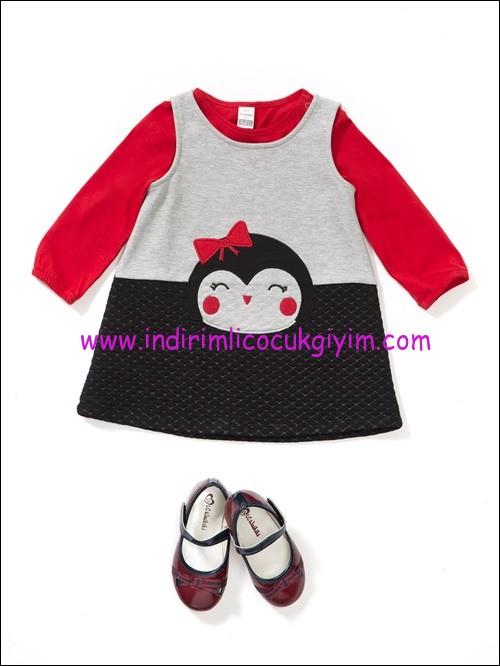 LCW kız bebek takım elbise