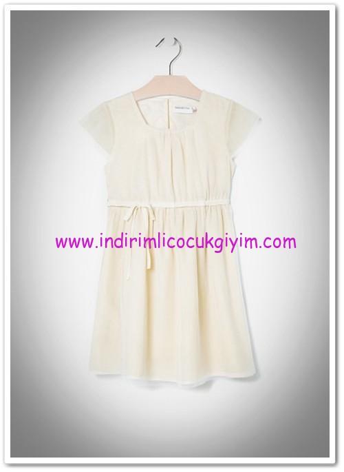 Mango kız çocuk fiyonklu tül elbise-50 TL