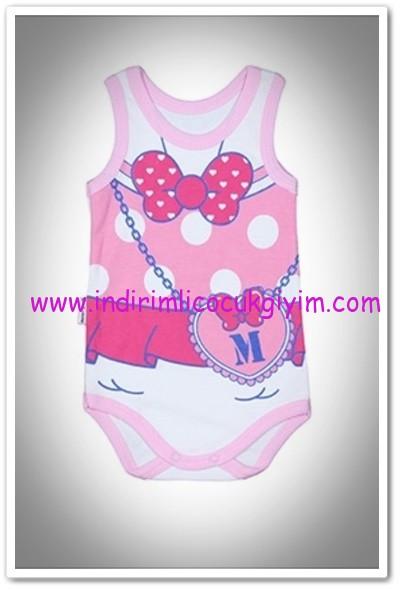 56f88927f2157 Tozlu Giyim önü baskılı pembe kız bebek body-13 TL | İndirimli Çocuk Giyim  Modelleri