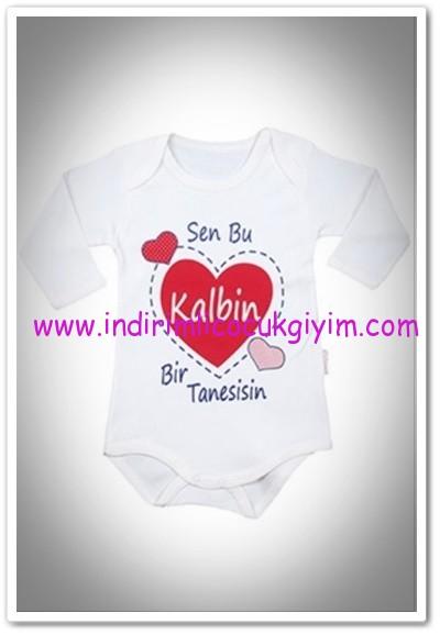 Tozlu Giyim yenidoğan uzun kollu body-14 TL