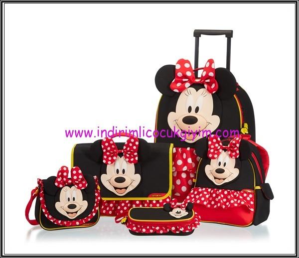 DisneybySamsonite-Minnie-Mouse-Çocuk Çanta modelleri