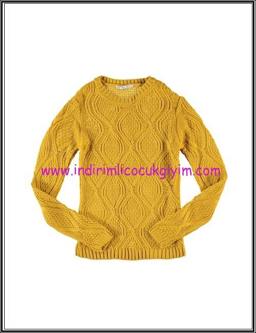 LCW genç kız hardal sarısı kazak-30 TL
