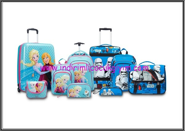 Samsonite-YariyilTatili-DisneyFrozen-çocuk çantası modelleri