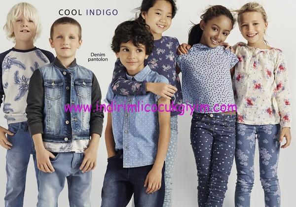 Benetton 2016 çocuk denim pantolon modelleri