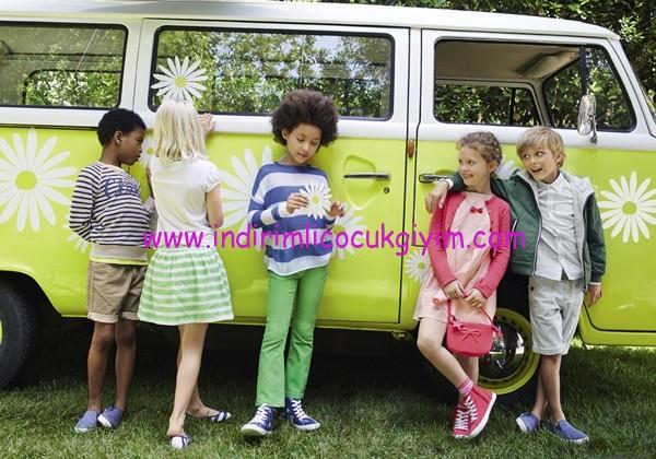Benetton 2016 bahar-yaz çocuk giyim koleksiyonu