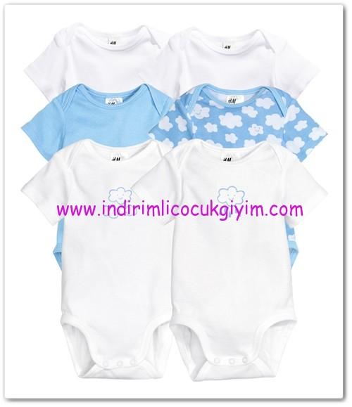 HM-kız bebek 6 lı body-50 TL