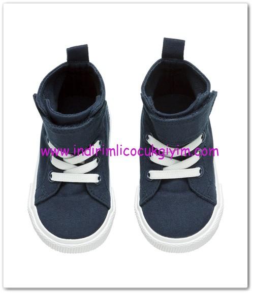 HM-kız bebek lacivert basketbol ayakkabısı-35 TL