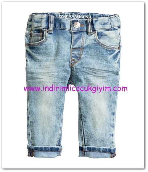 HM-kız bebek slim jean pantolon-35 TL