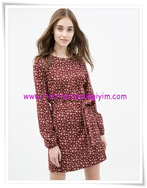 Koton çiçek desenli mini elbise-30 TL