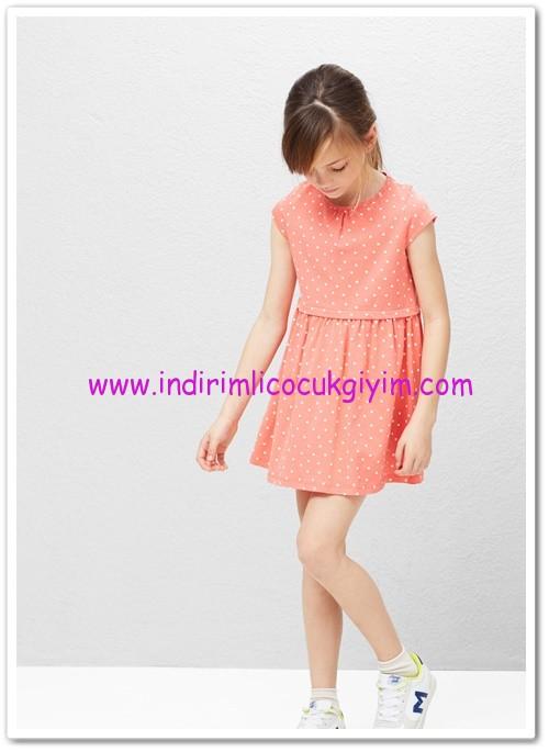 Mango kız çocuk puantiyeli elbise-33 TL