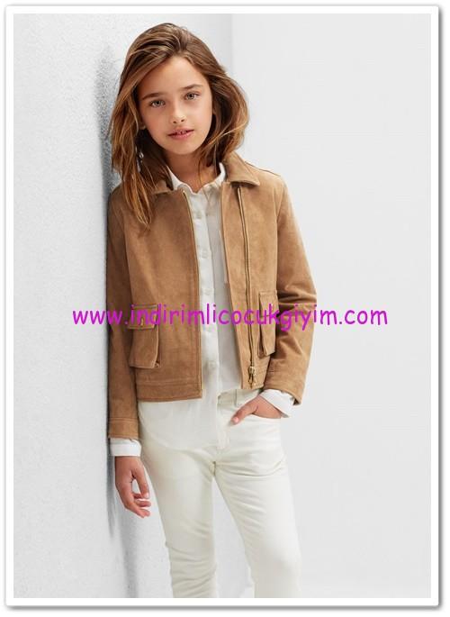 Mango kız çocuk süet ceket-200 TL