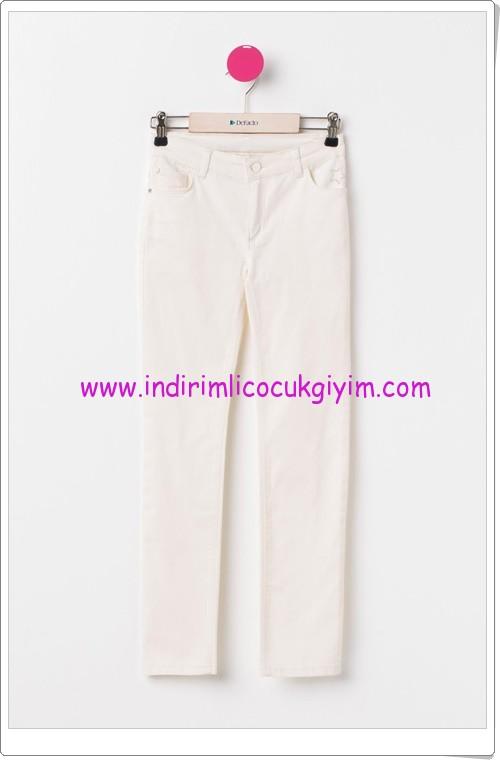 DeFacto ekru genç kız gabardin pantolon-40 TL