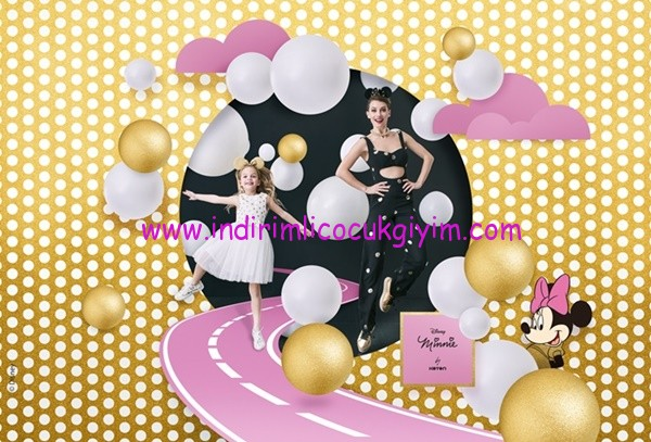 Koton Minnie Mouse Çocuk Giyim Modelleri
