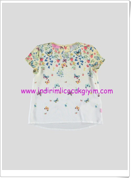 LCW kız çocuk kelebekli bluz-20 TL