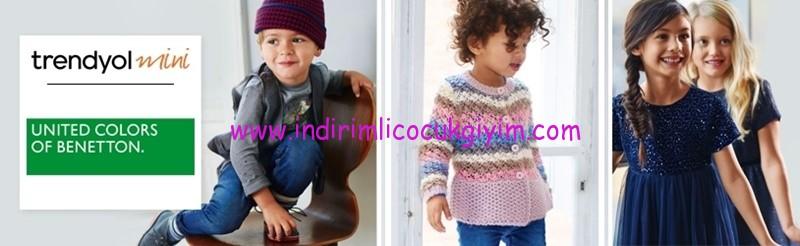 benettonkids-indirimli kız çocuk etek-elbiseler