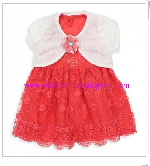 modakids-kiz-cocuk-bolerolu-mercan-elbise-45 TL