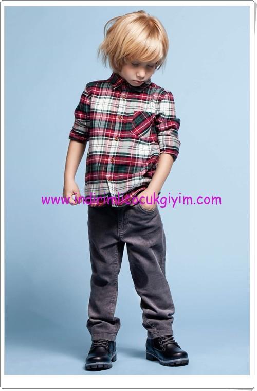 DeFacto erkek çocuk kadife pantolon-25 TL