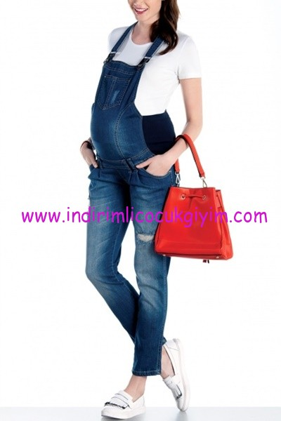 Ebru Maternity hamile kot salopet