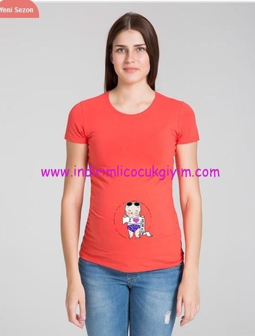 Esprili hamile tişörtü-50 TL