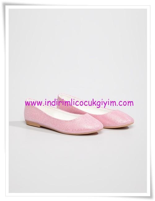 LCW kız çocuk pembe 23 Nisan ayakkabıları-15 TL