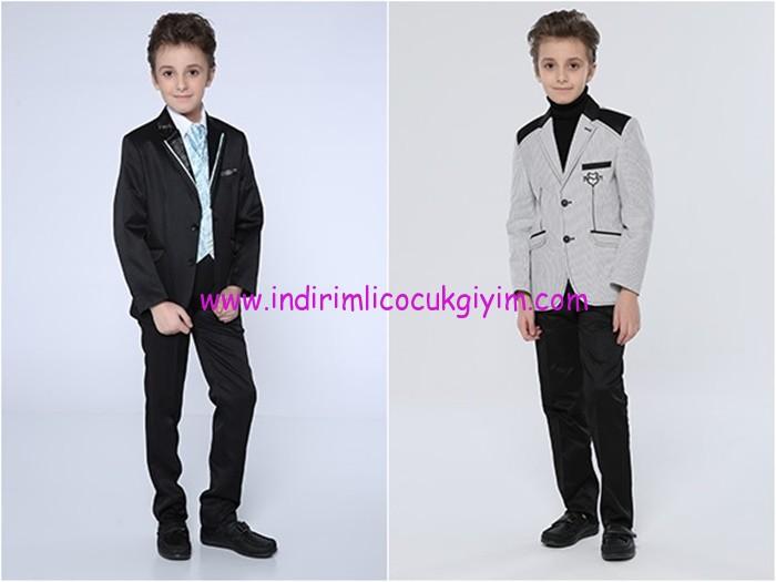 Tozlu Giyim erkek çocuk ceket-pantolon takımları