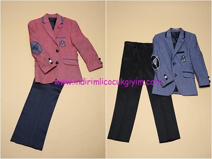 Tozlu giyim ikili ceket-pantolon çocuk takım