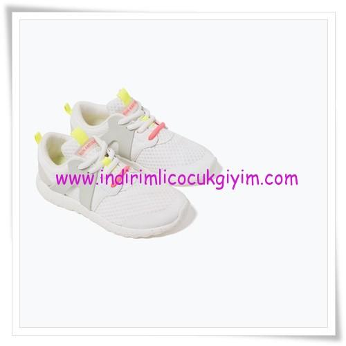 Zara kız çocuk beyaz spor ayakkabı-110 TL
