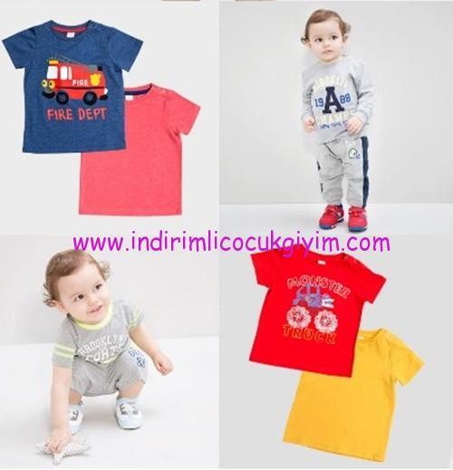 LCW erkek bebek tişört modelleri