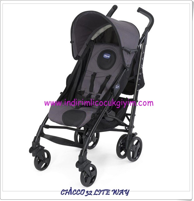 Chicco 32 Lite Way antrasit baston puset