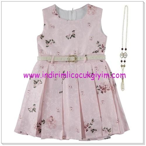 Civil 6-9 yaş kız çocuk bayramlık elbise
