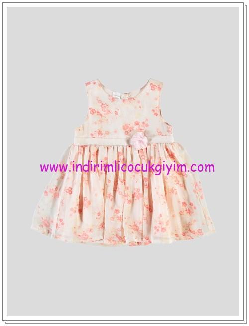 LC Waikiki kız bebek kolsuz pembe elbise-25 TL