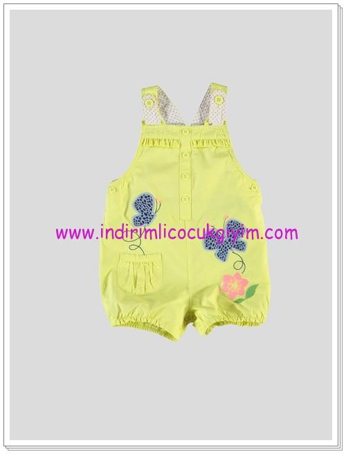LC Waikiki kız bebek sarı salopet-25 TL