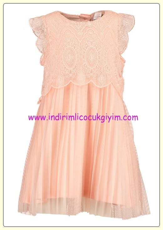 LC Waikiki kız bebek somon elbise-30 TL