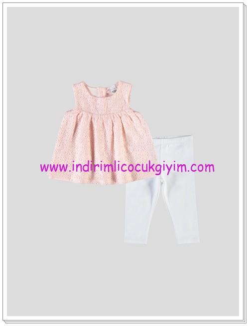 LCW kız bebek pembe ikili takım-30 TL