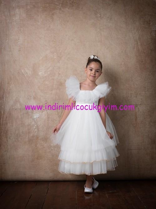 Little Fairy kız çocuk prenses elbiseleri