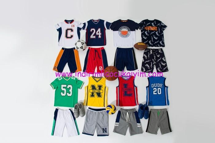 Koton Erkek Çocuk Spor Giyim Modelleri