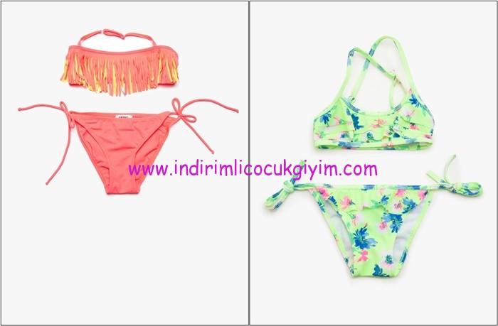 Koton Kids kız çocuk bikini modelleri