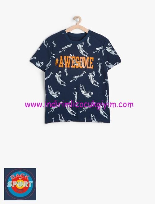 Koton erkek çocuk baskılı tişört