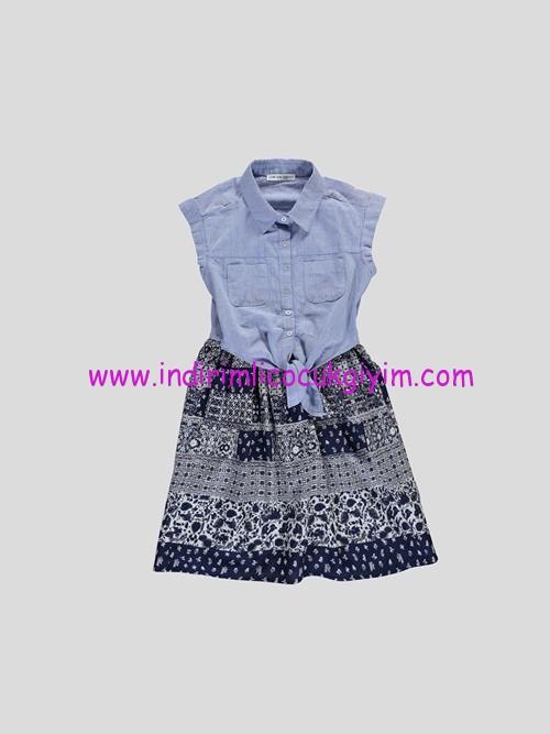 LCW genç kız 2 parça elbise