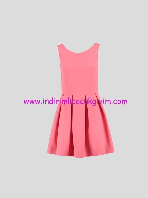 LCW genç kız mercan elbise