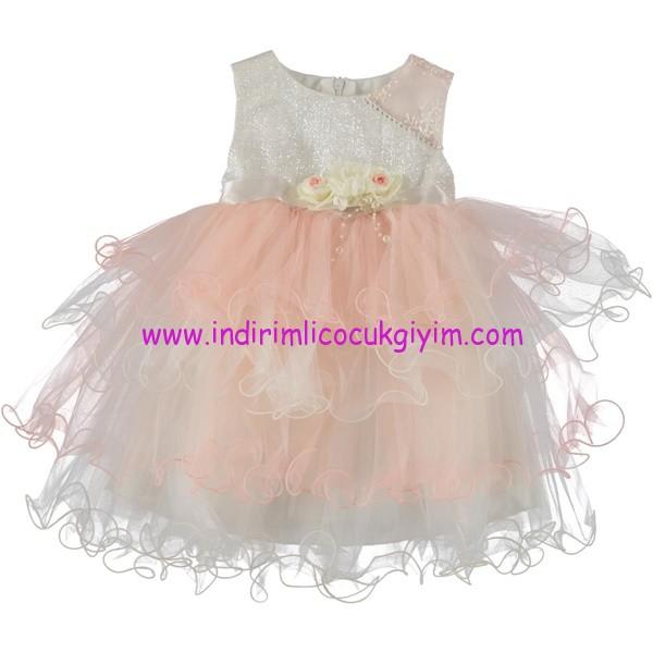 Civil kız çocuk tül etekli abiye elbise